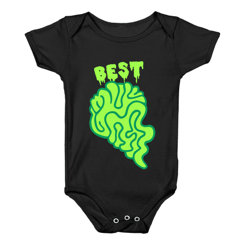 Best Zombies Green (Part 1) Baby Onesy