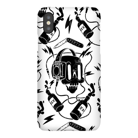 Party Skull Phone Case