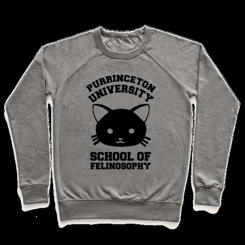 Purrinceton University School Of Felinosophy Pullover