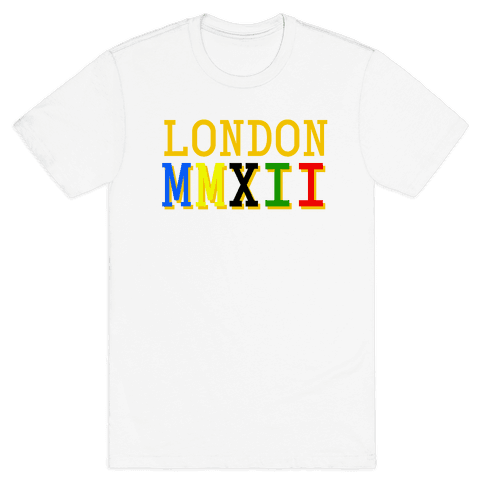 London MMXII Mens T-Shirt