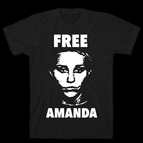Free Amanda Mens T-Shirt