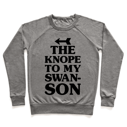 The Knope To My Swanson Pullover