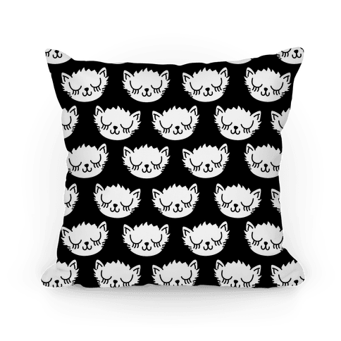 Pretty Kitty Pattern Pillow
