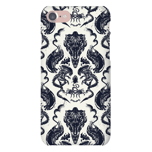 Alien Xenomorph Pattern Phone Case