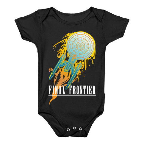 Final Frontier Baby Onesy
