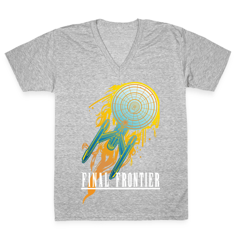 Final Frontier V-Neck Tee Shirt