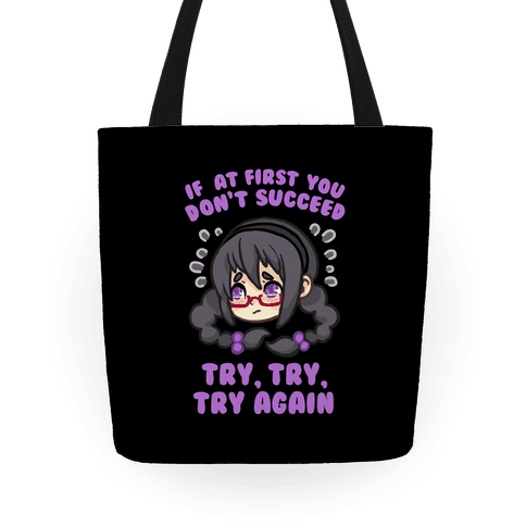 If At First You Don't Succeed Tote Tote
