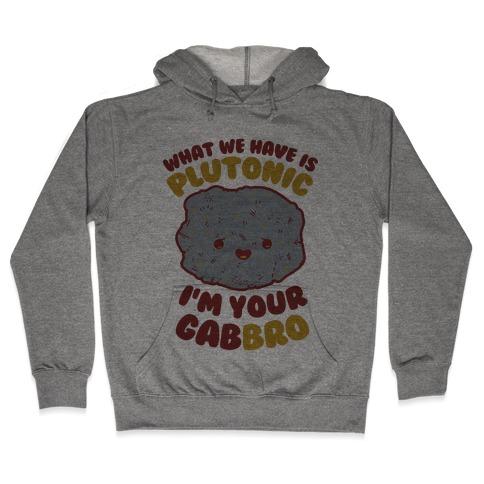 What We Have Is Plutonic I'm Your Gabbro Hooded Sweatshirt