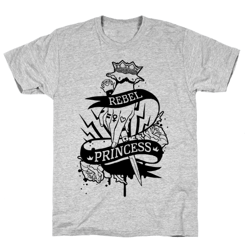 Rebel Princess Mens T-Shirt