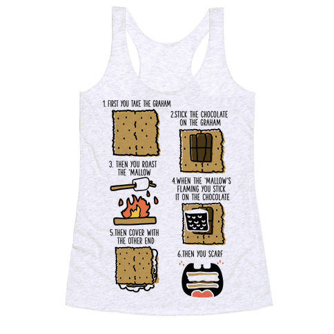 First You Take the Graham Racerback Tank Top