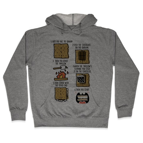 First You Take the Graham Hooded Sweatshirt