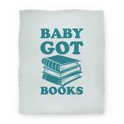 Baby Got Books Blanket