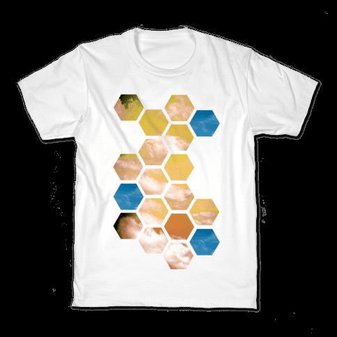 Cloud Collage Kids T-Shirt