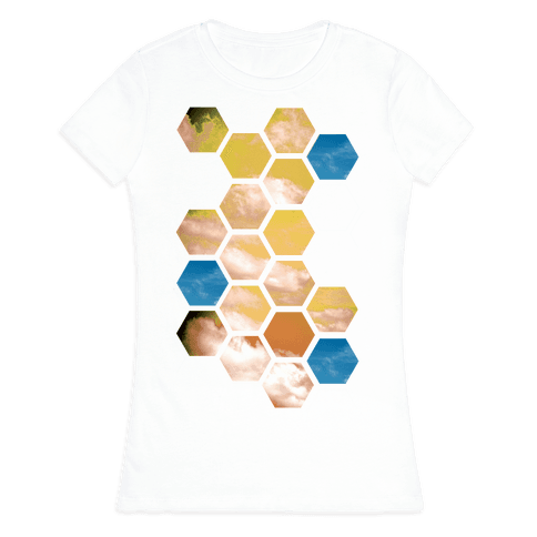 Cloud Collage Womens T-Shirt