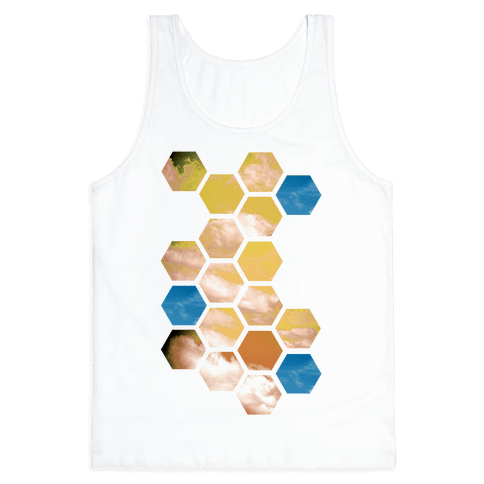 Cloud Collage Tank Top