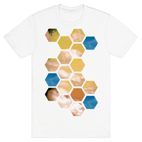 Cloud Collage Mens T-Shirt