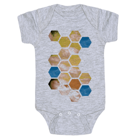 Cloud Collage Baby Onesy