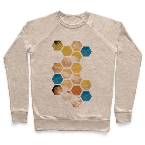 Cloud Collage Pullover