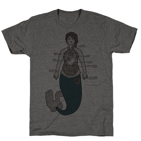 Mermaid Autopsy Mens T-Shirt