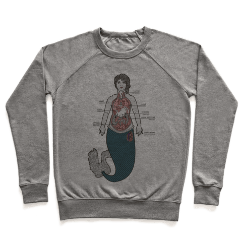 Mermaid Autopsy Pullover