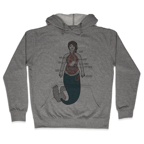 Mermaid Autopsy Hooded Sweatshirt