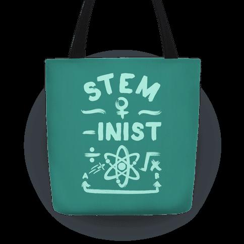 STEM-inist (STEM Field Feminist) Tote
