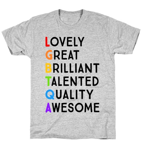 LGBTQA Meanings T-Shirt