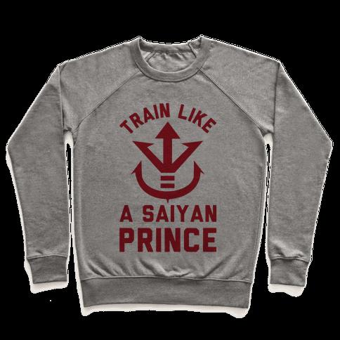 Train Like A Saiyan Prince Pullover
