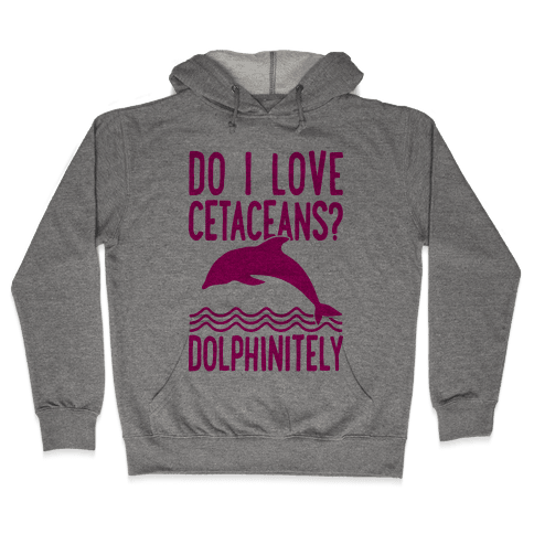 Dolphinitely Hooded Sweatshirt