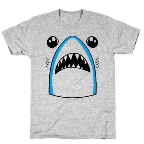 Left Shark Face T-Shirt