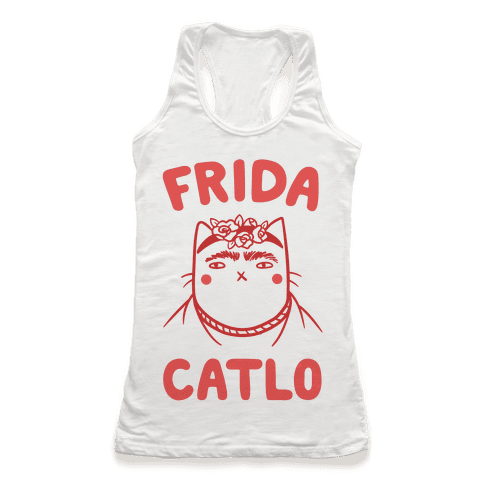 Frida Catlo Racerback Tank Top