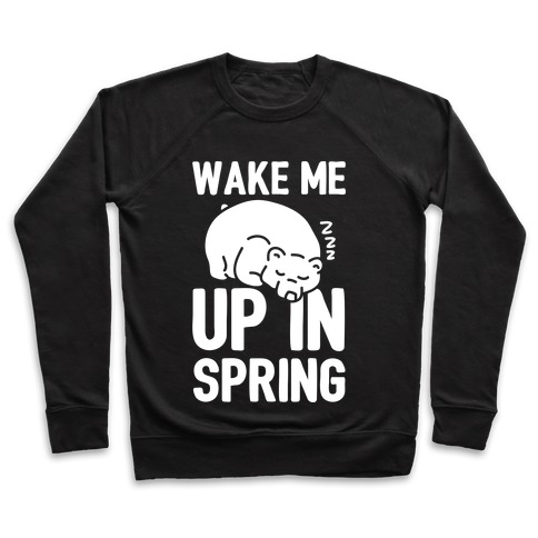 Wake Me Up In Spring Pullover