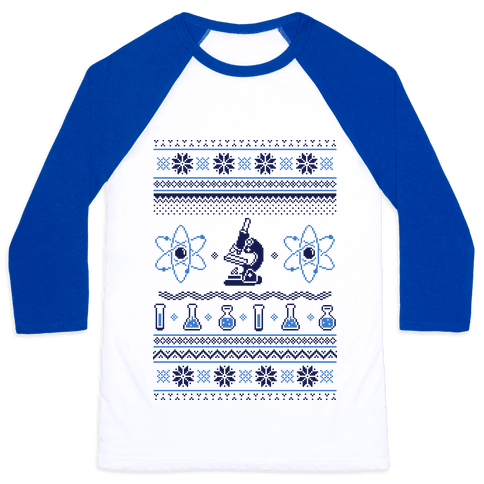 Ugly Science Sweater Baseball Tee