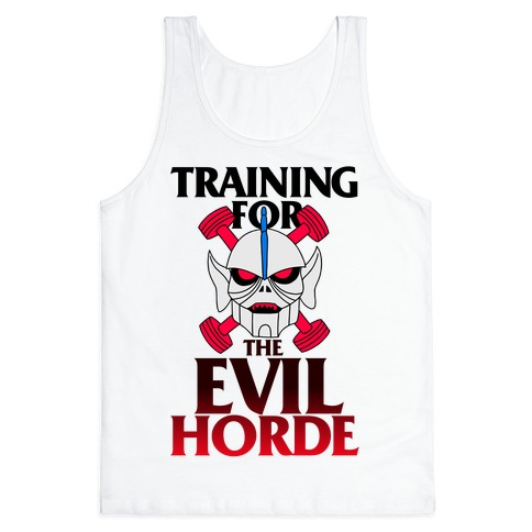 Training For The Evil Horde Tank Top