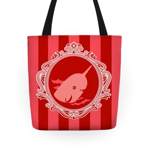 Narwhal Cameo Tote