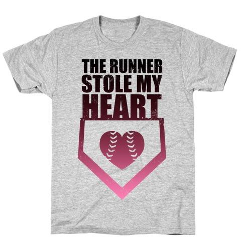 The Runner Stole My Heart (Baseball Tee) T-Shirt