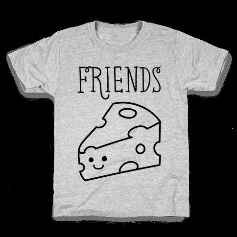 Best Friends Macaroni and Cheese 2 Kids T-Shirt
