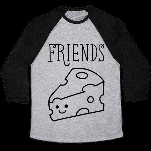 Best Friends Macaroni and Cheese 2 Baseball Tee