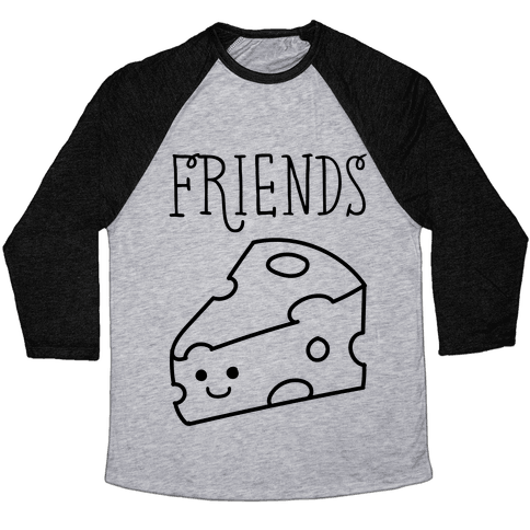 Best Friends Macaroni and Cheese 2 Baseball Tee