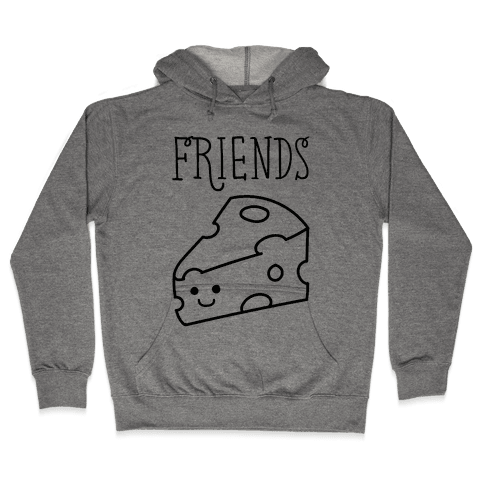 Best Friends Macaroni and Cheese 2 Hooded Sweatshirt