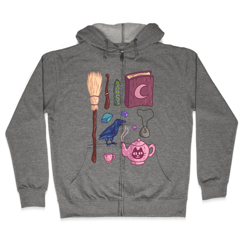 Witch Essentials Zip Hoodie