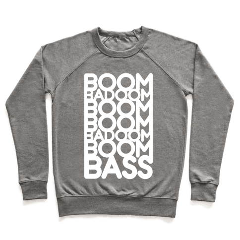 That Super Bass (White Ink) Pullover