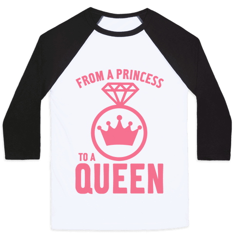 From a Princess Baseball Tee