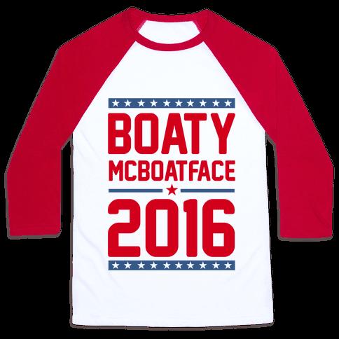 Boaty McBoatface 2016 Baseball Tee