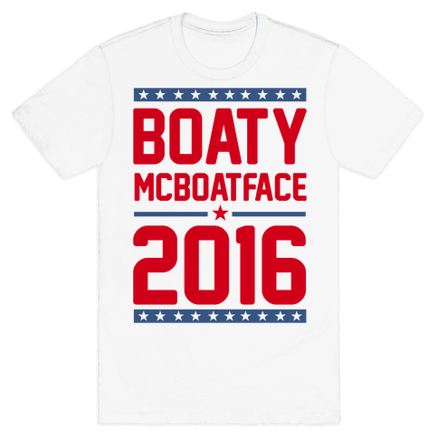 Boaty McBoatface 2016 Mens T-Shirt