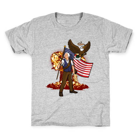 The Immortal George Washington Kids T-Shirt