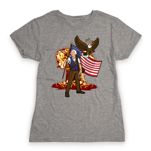 The Immortal George Washington Womens T-Shirt
