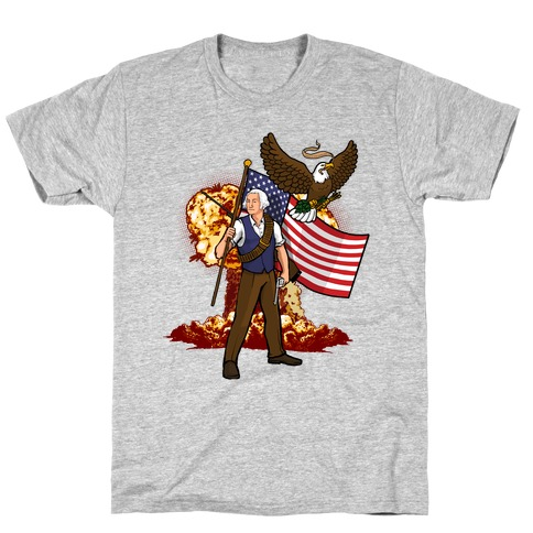 The Immortal George Washington T-Shirt
