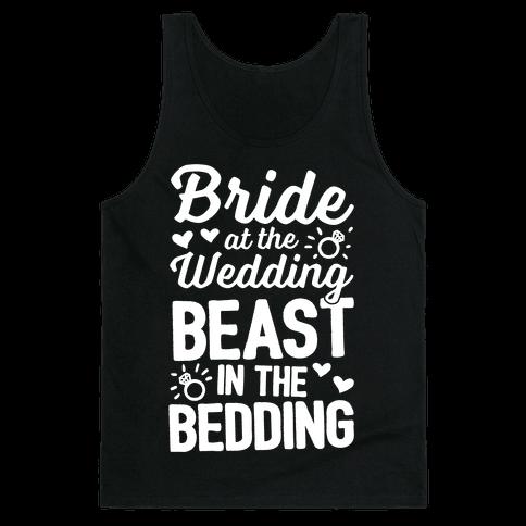 Bride At The Wedding Tank Top