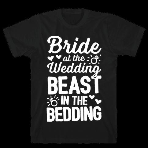 Bride At The Wedding Mens T-Shirt
